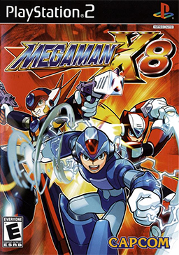 Megaman X8 Videogame for PS2- Boss Sigma